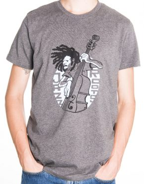 Man Grey Tshirt Jazz