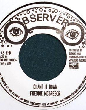 Chant it down Frediie McGregor Observer Iroko 7