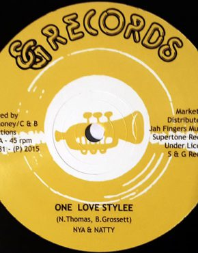 One Love Stylee - Nya & Natty S&G 12 (Jah Fingers)
