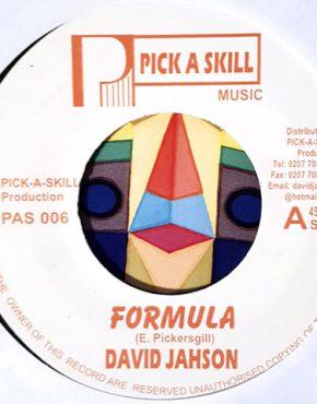 Formula - David Jahson - Pick a Skill 7