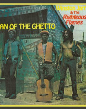 man in the ghetto - Winsotn Jarret & The Righteous flames iroko LP