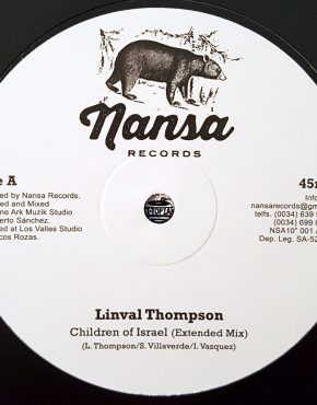 Children of israel - Linval Thompson - Nansa 10""