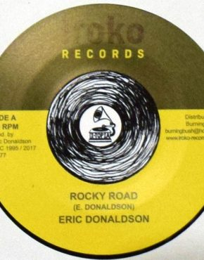 BB77 - Rocky Road - Eric Donaldson - Iroko Records 7