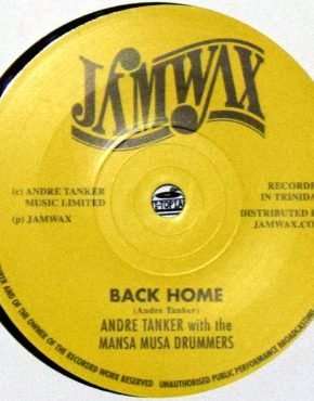 JAMWAX10 - Back Home - Andre Tanker with the Mansa Musa Drummers - Jamwax 7