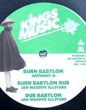 KM1201 - Burn Babylon - Anthony Q - Kings Music 12