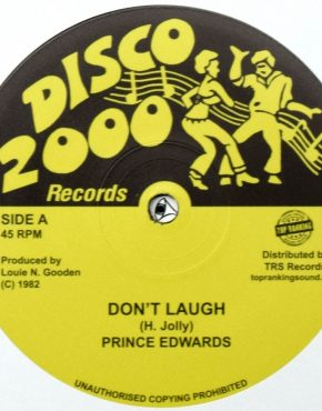 TRSLG2 - Don't Laugh - Prince Edwards - Disco 2000 10 (TRS)