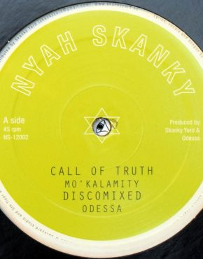 NS12002 - Call Of Truth - Mo'Kalamity - Nyah Skanky 12