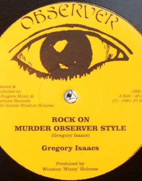 OBS999 - Rock On - Gregory Isaacs - Observer 12
