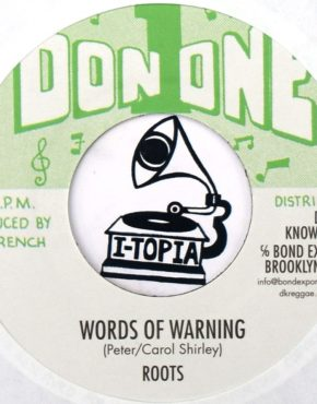 BE038 - Words Of Warning - Roots - Don One 7 (DKR)