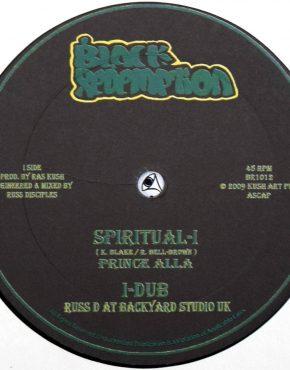 BR1012 - Spiritual-I - Prince Alla - Black Redemption 10