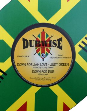 DWO021 - Down For Jah Love - Judy Green - Dubwise 10