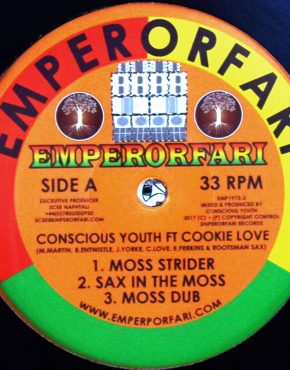 EMP1973_2 - Moss Strider - Conscious Youth Ft. Cookie Love - EmperorFarI 12