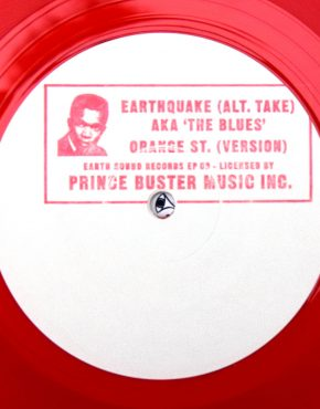 ESREP09 - Earthquake - Prince Buster All Stars - Earth Sound Records 10