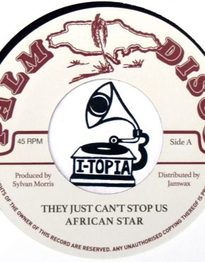 JAMWAX04 - African Star (Sylvan Morris) - They Just Can't Stop Us - Palm Disco 7