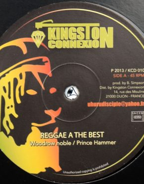 KCD010 - Reggae A The Best - Prince Hammer - Kingston Connexion 12