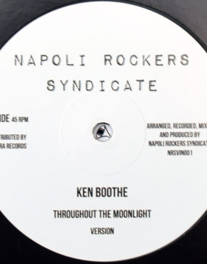 NRSVIN001 - Throughout The Moonlight - Ken Boothe - Napoli Rockers Syndicate 12