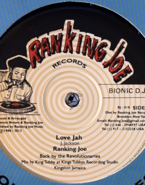 RJ018 - Love Jah - Ranking Joe - Ranking Joe 12