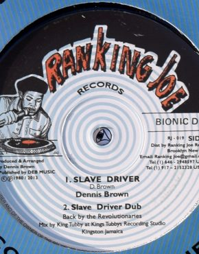 RJ019 - Slave Driver - Dennis Brown - Ranking Joe 12