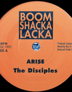 BSL002 - arise - The disciples - boom shacka lacka 7 b