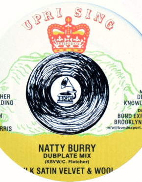 DKR247 - Natty Burry - Dubplate Mix - Silk Satin & Wool - Uprising 7