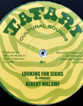 JFR1207 - Looking For Signs - Albert Malawi - Tafari 12 (Jah Fingers)