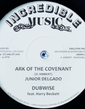 JFR1214 - Ark Of The Covenant - Junior Delgado - Incredible Music 12 (Jah Fingers)
