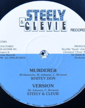 JFR1238 - Murderer - Whitey Don - Steely & Clevie 12 (Jah Fingers)