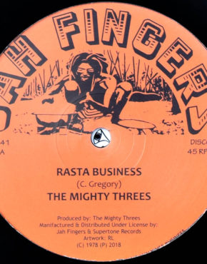 JFR1241 - Rasta Business - The Mighty Trees - Jah Fingers 12