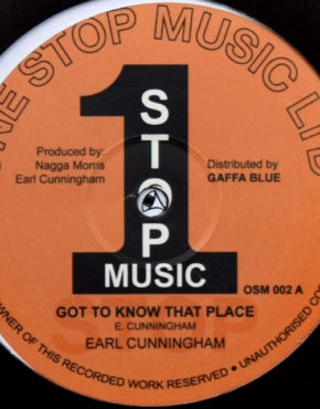 OSM002 - Got To Know That Place - Earl Cunningham - one stop music ltd 12
