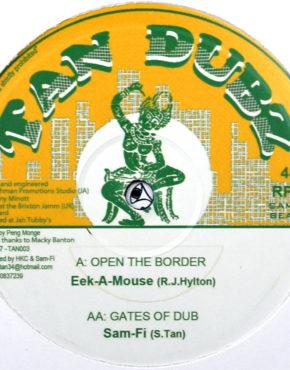 TAN003 - Open The Border - Eek A Mouse - Tan Dubz 10