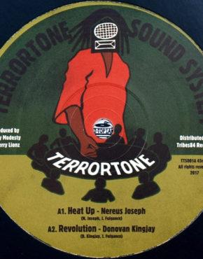 TTS001 - Heat Up - Nereus Joseph - Terrortone Sound System 10