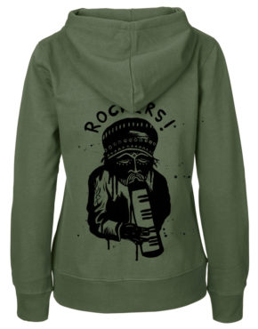 Military Hoodie women back rockers1