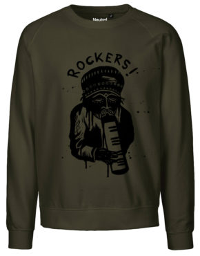Military Sweater front rockers