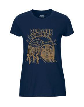 Navy tshirt woman rubadub