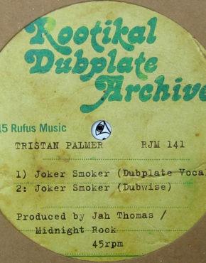 RJM141 - Joker Smoker - Tristan Palmer - Rootikal Dubplate Archive 10