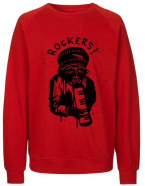 Red Sweater front rockers1
