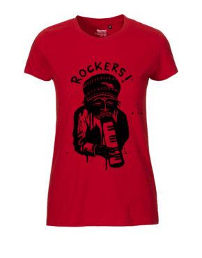 Tshirt rockers women Red
