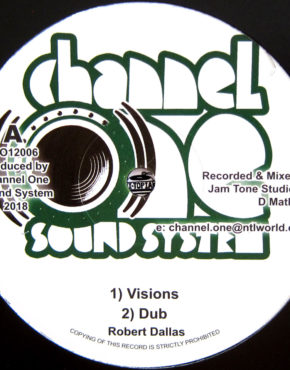 CO12006 - Visions - Robert Dallas - Channel One Soundsystem 12