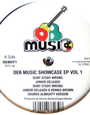 DEBEP1 - Don't Study Wrong - Junior Delgado - DEB Music Showcase EP