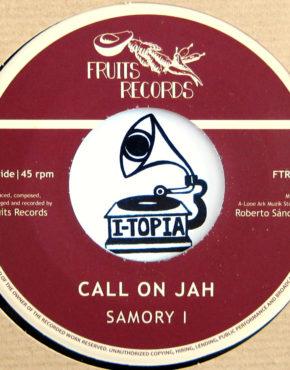 FTR012 - Call On Jah - Samory I - Fruits Records 7