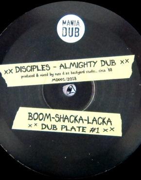 MDUB001 - Almighty Dub -Disciples - ManiaDub 10