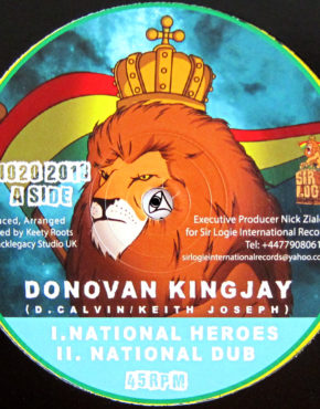 SLI020 - National Heroes - Donovan Kingjay - Sir Logie 10