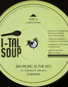 IS7001 - Jah Music Is The Key - Dubdada - I-Tal Soup 7