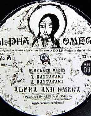 MD002 - Rastafari - Alpha And Omega - A&O 10 Maniadub