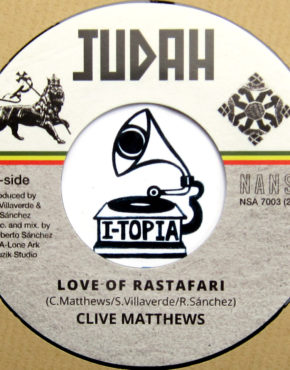 NSA7003 - Love Of Rastafari - Clive Matthews - Nansa 7