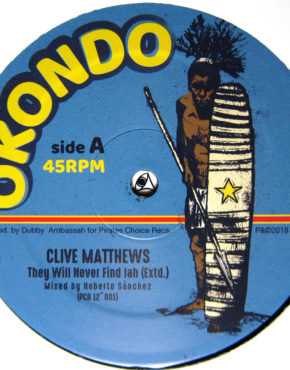 PCR12001 - They Will Never Find Jah - Clive Matthews - Okondo 12