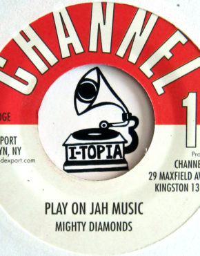 DKR208 - Play On Jah Music - Mighty Diamonds - Channel 1 7 (DKR)