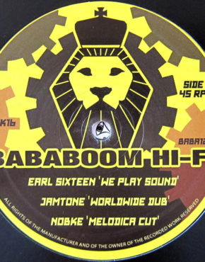 BABA1204 - We Play Sound - Earl Sixteen - Bababoom Hi-Fi 12