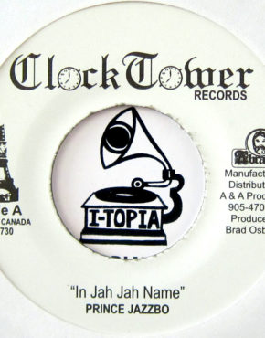 CT730 - In Jah Jah Name - Prince Jazzbo - Clocktower Records 7