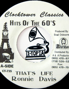 CT735 - That's Life - Ronnie Davis - Clocktower Records 7